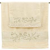 Guest Hand Towel Pair Gabel Quilt Star