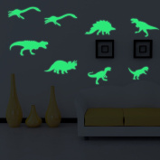 Dinosaurs Stickers Baokee 9PCS Luminous Wall Fluorescent Kids Room New Dinosaur Home Decor