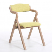 Dining Chair Lounge Chair Wood Comfortable Study Chair Leisure Coffee Chair