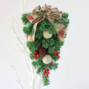 Christmas decorations Christmas tree wall ornaments