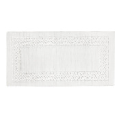 Coin Home 6674828 Thermae Bath Mat 100% Cotton, White, 50 x 100 x 0.5 cm