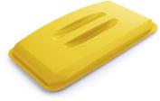 Durable Durabin Rectangular Bin Lid 60 Litre - Yellow