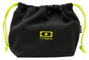 MB Pochette black/green – The bento bag
