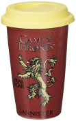 "Pyramid International ""Game of Thrones (House Lannister)"" Official Boxed Ceramic Coffee/Tea Mug, Multi-Colour, 12 oz/340 ml"