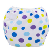 Fulltime(TM) Newborn Baby Summer Cloth Nappy Cover Adjustable Reusable Washable Nappy