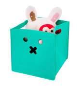 Storage Basket, Felt Toy Chest Baskets Storage Bins Organiser - Perfect for Organising Toy Storage, Baby Toys, Kids Toys, Dog Toys, Baby Clothing, Children Books, Gift Baskets