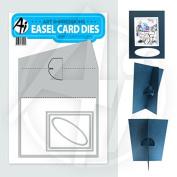 Art Impressions Stamp Square Easel Die Steel Dies