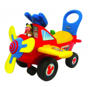 Kiddieland Toys Limited Kiddieland Disney Mickey Mouse Clubhouse Plane Light & Sound Activity Ride-On