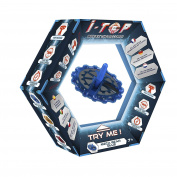 """Goliath 85252 Spinning Top """"I-Top Meca-Gear"""" in Blue"""