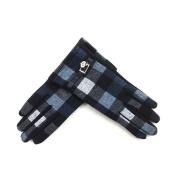 Winter fashion Plaid touch screen gloves outdoor warmth wasn't gloves ladies gloves