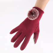 Touch Screen Gloves Not down Leisure High-end Business Women's Gloves