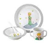 The Little Prince Gift Box, Grey, 4-Piece
