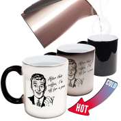Funny Mugs - 123t After This Coffee Im Off For A Poo - Joke Humour Gift Birthday Present COLOUR CHANGING NOVELTY MUG -Christmas Secret Santa