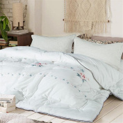 Winter Cotton Printed Duvet Thickening Feather Silk Cotton Quilt Keep Warm Breathable and Soft , 1 , 220*240cm