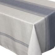 Bistro Rectangular Tablecloth 150 x 200 cm Printed 100% Polyester Grey