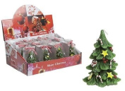2 x Small Xmas Christamas Tree Shape Canlde Home Decoration Gift Stocking Filler