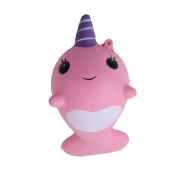 Lalang Unicorn Squishy Slow Rising Toy, Reduce Stress and Anxiety