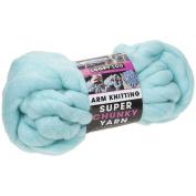 PMS Light Blue Super Chunky Arm Knitting 12. 5mtr Hank