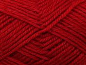 Wendy Merino Knitting Yarn DK 2352 Persian Red - per 50 gramme ball
