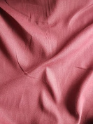 Cotton Muslin Fabric Material For Textile Craft Clothing Haberdashery - Burgundy