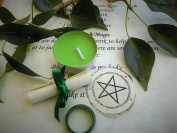 Agate Ring Witchcraft Spell Kit for Confidence Created by a Practising Witch