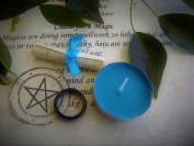 Agate Wiccan Ring Spell Kit to Ease Anxiety Created by a Practising Witch