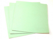 Plain Acrylic Felt Fabric 46cm Square Mint Green - per sheet