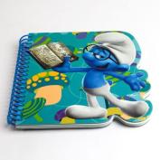 Smurfs Brainy Die Cut Notebook