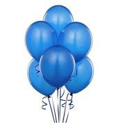 ZHOUBA 20Pcs Holiday Party Birthday Festival Wedding Pure Latex Helium Air Balloons - Dark Blue