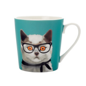 Christopher Vine Mini Mob Alice Green Mug 350ml