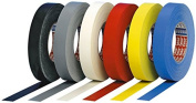 Tesa Adhesive Fabric Tape, Large Roll Width 19 mm Length 50 m Red