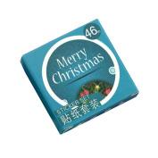 Sunsline Merry Christmas Adhesive Tape DIY Stickers