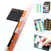 ShenTan 16.9-17.12 Year Calendar Stickers Index Stickers Label Stickers Can Move Stickers