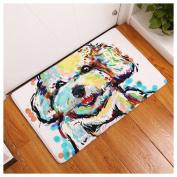 Non-slip Doormats Carpet Fuibo 40 * 60 Animal Home Non Slip Door Floor Mats Hall Rugs Kitchen Bathroom Carpet Decor