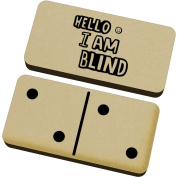 'Blind Greeting' Domino Set & Box