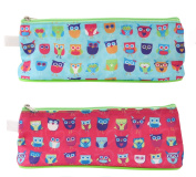 "Just stationery ""Owls Design"" Pencil Case"