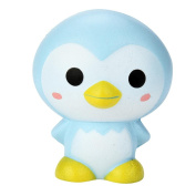 JoyJay 1 PC Soft Squishy Toy Cute Penguin Cartoon Scented Squishy Charm Slow Rising Squeeze Toy Charm 9cm