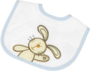 Be Be's Collection 608 Bib with Hook and loop 53 Mini 24x28 CM Hasi blue