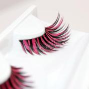 wuayi Women Halloween Stage Party Makeup Artistic False Eyelashes Extension Dense