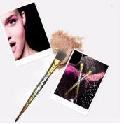 wuayi 1 PC Fish Scale Shape Makeup Brush Makeup Tools Foundation Powder Brush