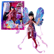 World of Winx - Dreamix Fairy Doll - Musa 28cm with Magical Robe