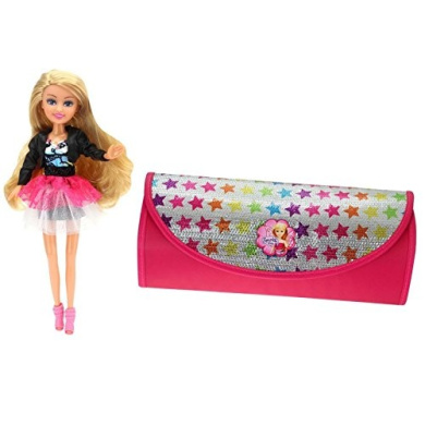 Sparkle Girlz Bag with Doll (ColorBaby 44503)