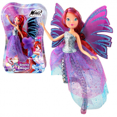 Winx Club - Sirenix Magic Doll - Fairy Bloom - The Mystery of the Abyss