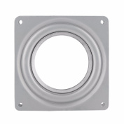 YiZYiF Heavy Duty Lazy Susan Turntable 360 Degree Rotating Swivel Steel Ball Bearing Stand For Kitchen Cabinet Silver 10cm