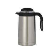 axentia axentia Thermal Coffee Carafe, Mila - Stainless Steel, Insulated Coffee Jug 1.6l, Stainless Steel, Silver,