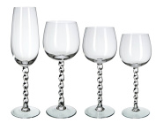 Bohemia Crystal Maya Glassware, Glass, 55.5 x 55.5 x 39.5 cm, Pack of 48