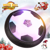 Air Power Soccer Disc KONOMIO Hover Ball Boys Girls Toys Soft Foam Bumpers and LED Lights Training Football Indoor Outdoor Gifts for Kids