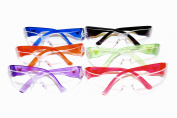 G & F 13016-6 EyePRO Scratch, Impact and Ballistic Resistant Safety Goggles with Clear Lens