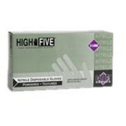 High Five N243 Latex & Powdered Industrial Nitrile Gloves - Large