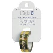 Little B Happy Birthday 100633 Decorative Foil Tape, Gold